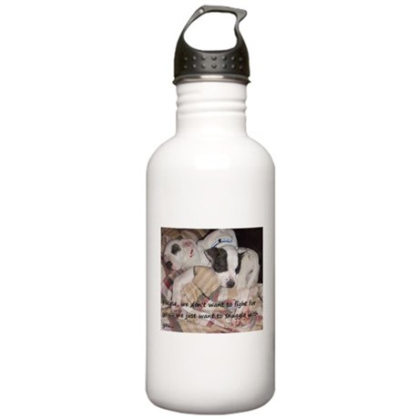 Snuggler not a fighter Stainless Water Bottle 1.0L