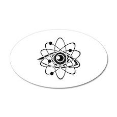Chemistry 22x14 Oval Wall Peel