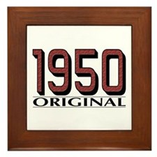 1950 Original Framed Tile