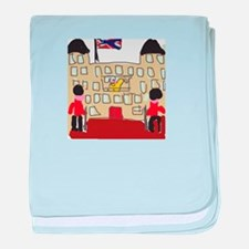 HM Queen Elizabeth at Buckingham Palace baby blank