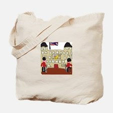 HM Queen Elizabeth at Buckingham Palace Tote Bag