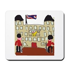 HM Queen Elizabeth at Buckingham Palace Mousepad