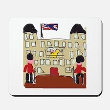 HM Queen Elizabeth at Buckingham Palace Mousepad