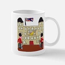 HM Queen Elizabeth at Buckingham Palace Mug