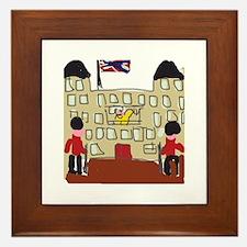 HM Queen Elizabeth at Buckingham Palace Framed Til