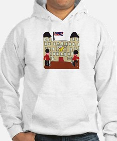 HM Queen Elizabeth at Buckingham Palace Hoodie Sweatshirt