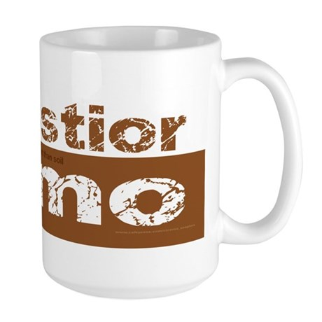 Older Than Dirt (Latin) Large Mug