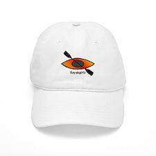 Kayakgirlz Orange Kayak Baseball Cap