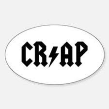 CR/AP Oval Decal
