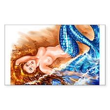 """Mermaid"" Rectangle Decal"