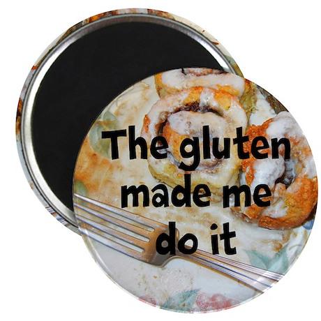 "Blame the Gluten 2.25"" Magnet (10 pack)"