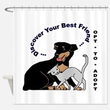 Opt*To*Adopt Shower Curtain