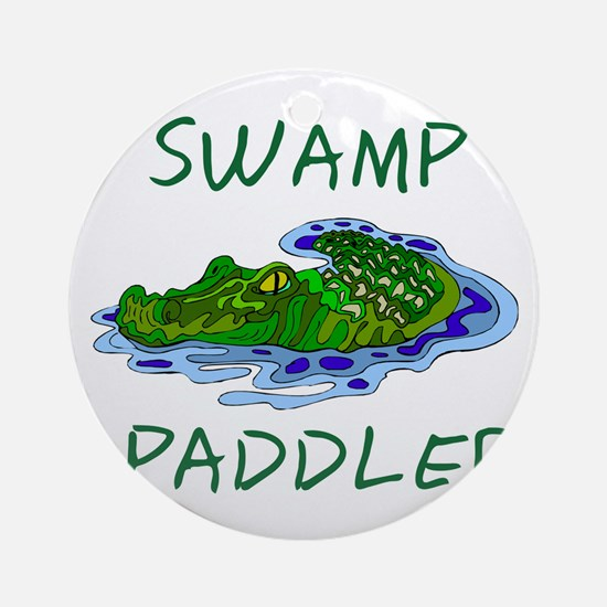 Swamp Paddler Ornament (Round)