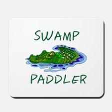 Swamp Paddler Mousepad