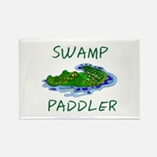 Swamp Paddler Rectangle Magnet