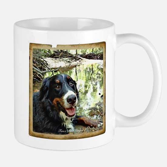 Berner by a Stream Mug