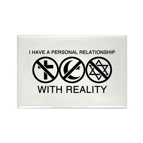 Atheist Rectangle Magnet (100 pack)