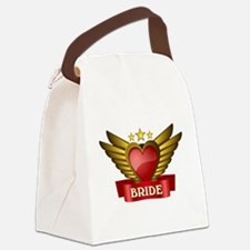 GOLD WING BRIDE Canvas Lunch Bag