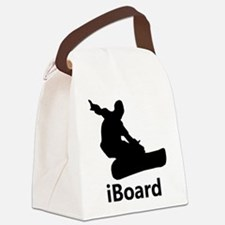 iBoard Snowboarding Canvas Lunch Bag