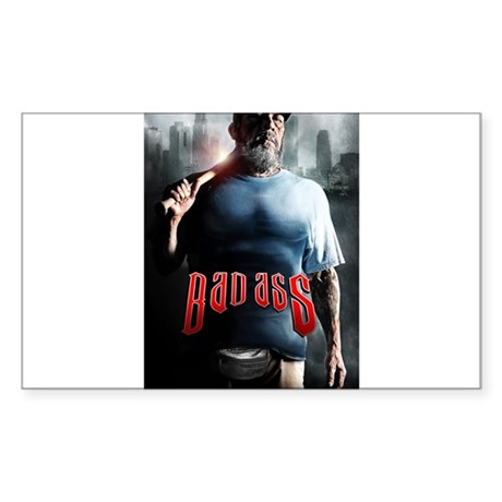 Danny Trejo is BAD ASS Sticker (Rectangle)