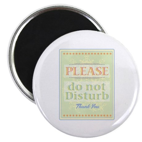 """Do Not Disturb 2.25"""" Magnet (100 pack)"""
