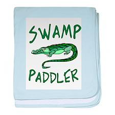 Swamp Paddler III baby blanket