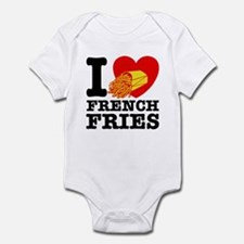 I Love French Fries Infant Creeper