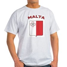 Malta Ash Grey T-Shirt