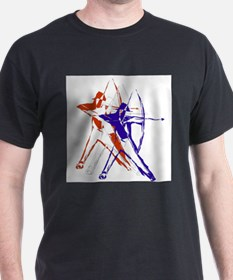 Archery Red White and Blue T-Shirt