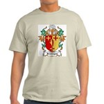 Branagan Coat of Arms Ash Grey T-Shirt