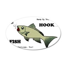 Hang Up Your Hook.png Wall Decal