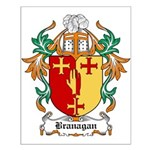 Branagan Coat of Arms Small Poster