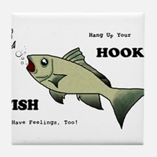 Hang Up Your Hook.png Tile Coaster