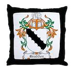 Bradden Coat of Arms Throw Pillow