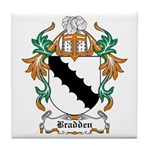 Bradden Coat of Arms Tile Coaster