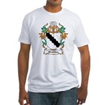 Bradden Coat of Arms Fitted T-Shirt