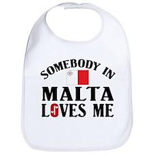 Somebody In Malta Bib