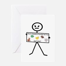 Which Favorite Today.png Greeting Card
