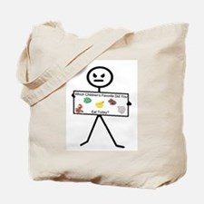 Which Favorite Today.png Tote Bag