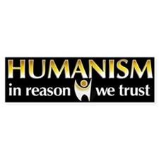 In Reason We Trust Bumper Bumper Sticker