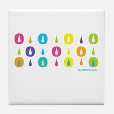 MM Drops of Love Tile Coaster