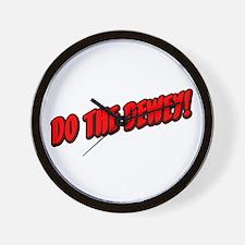 Do The Dewey! Wall Clock