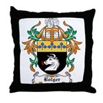 Bolger Coat of Arms Throw Pillow