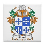 Blood Coat of Arms Tile Coaster
