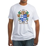 Blood Coat of Arms Fitted T-Shirt