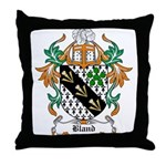 Bland Coat of Arms Throw Pillow