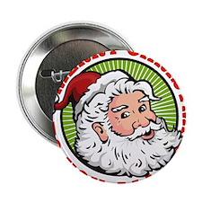 """Father Christmas Santa Claus 2.25"""" Button"""