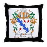 Biggar Coat of Arms Throw Pillow