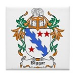 Biggar Coat of Arms Tile Coaster