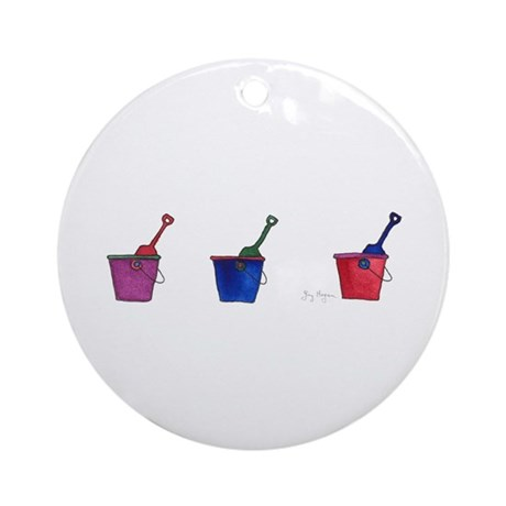 Buckets & Shovels Ornament (Round)